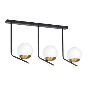 Black Ceiling Lamp Carina 3x E14 small 0