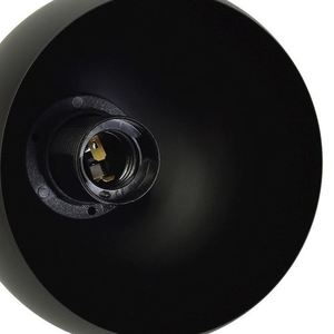 Black Wall lamp Dama Black 1x E27 small 1