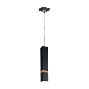 Black Vidar Black 1x Gu10 Hanging Lamp small 0