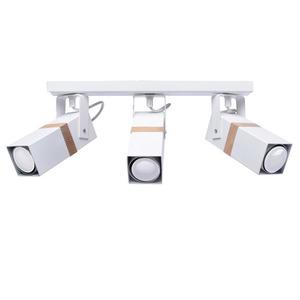 White Ceiling Lamp Vidar White 3x Gu10 small 1