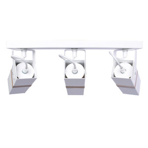 White Ceiling Lamp Vidar White 3x Gu10 small 2