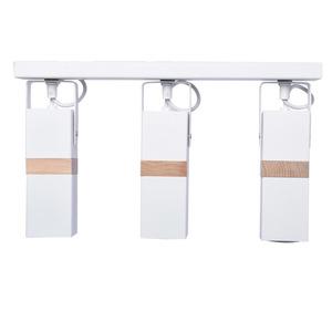White Ceiling Lamp Vidar White 3x Gu10 small 0