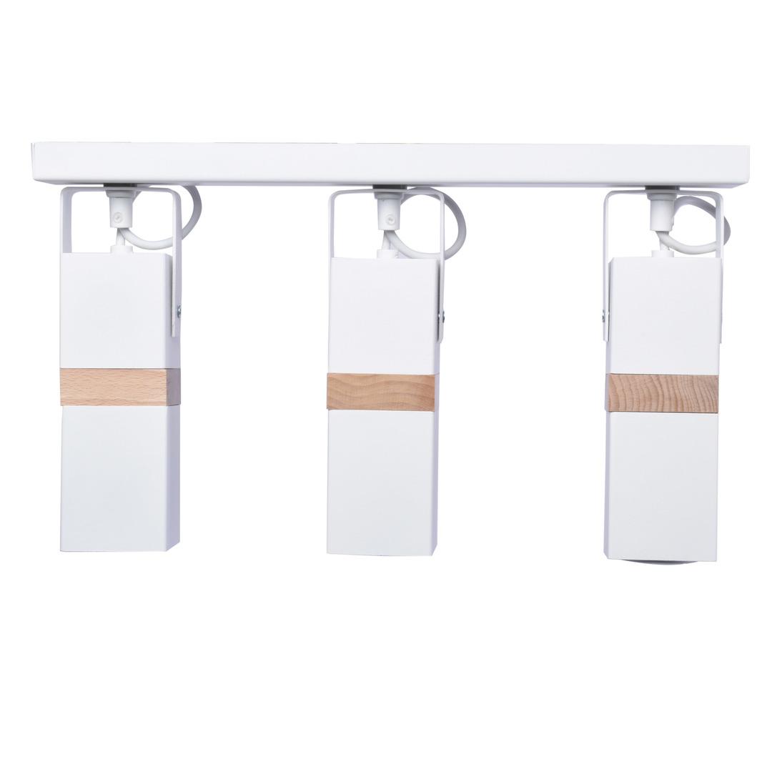 White Ceiling Lamp Vidar White 3x Gu10