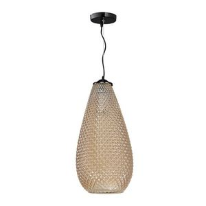 Amber Hanging Lamp Petra 1x E27 small 0
