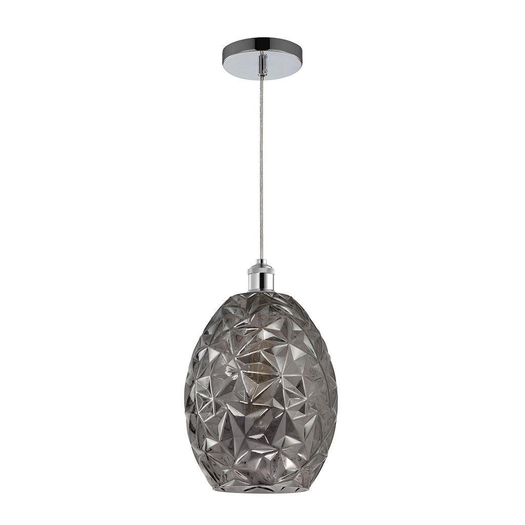 Chrome Pendant Lamp Belize 1x E27