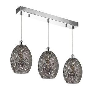 Chrome Pendant Lamp Belize 3x E27 small 0