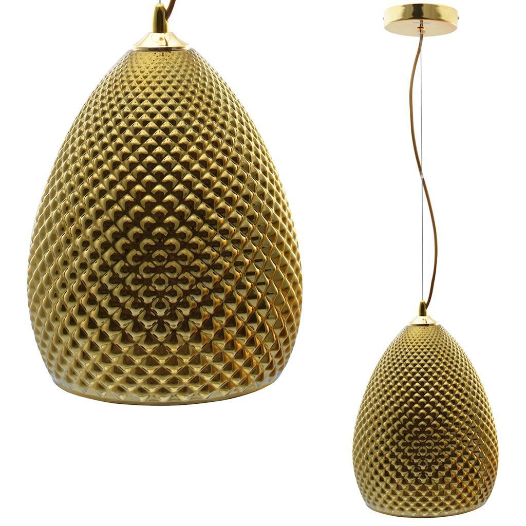 Fiji Gold Hanging Lamp 1x E27