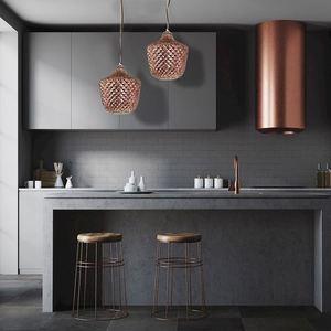 Copper Pendant Lamp Orlando 1x E27 small 1