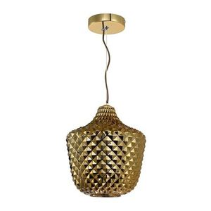 Orlando Gold Pendant Lamp 1x E27 small 0