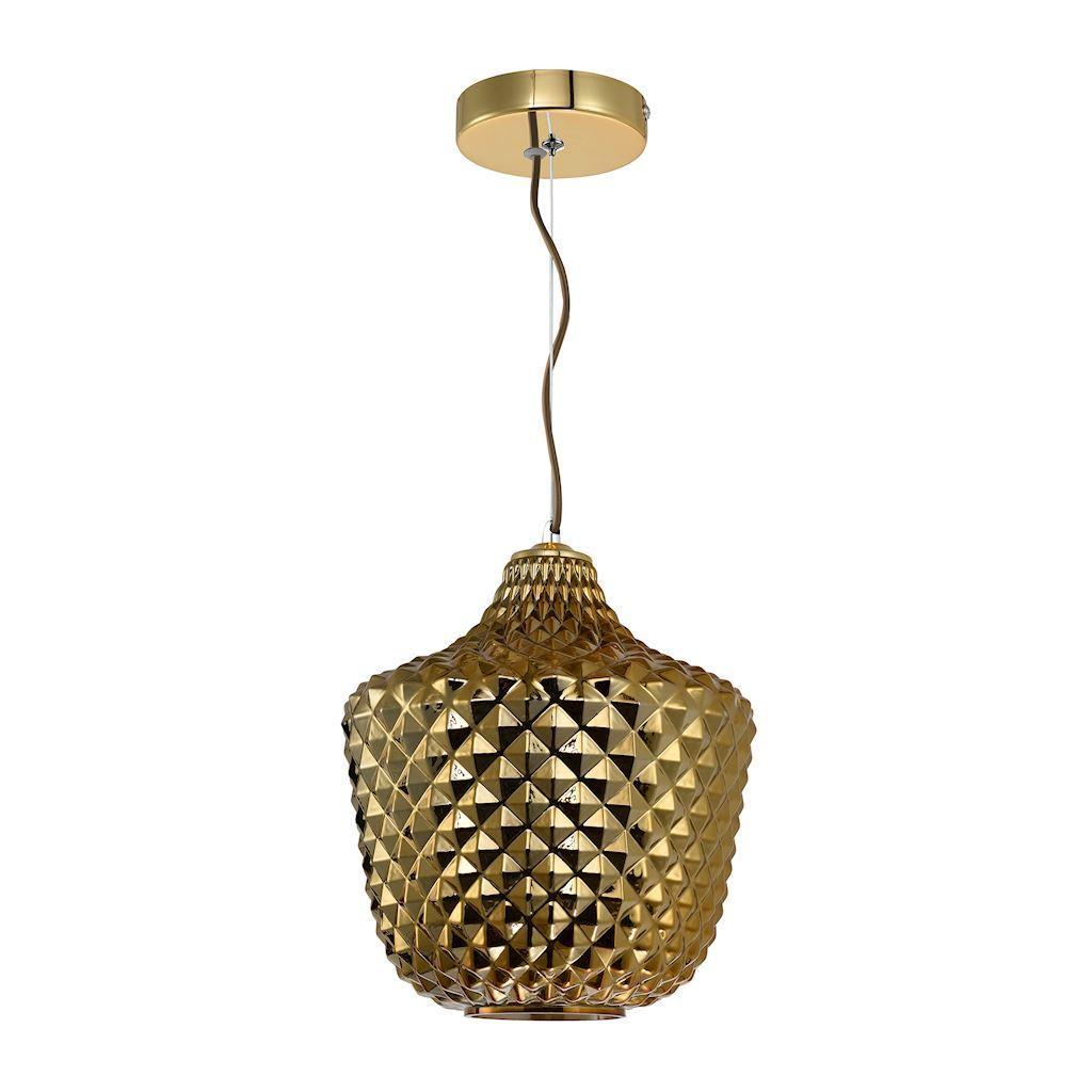 Orlando Gold Pendant Lamp 1x E27