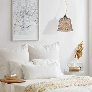 Chrome Hanging Lamp Rio 1x E27 small 1