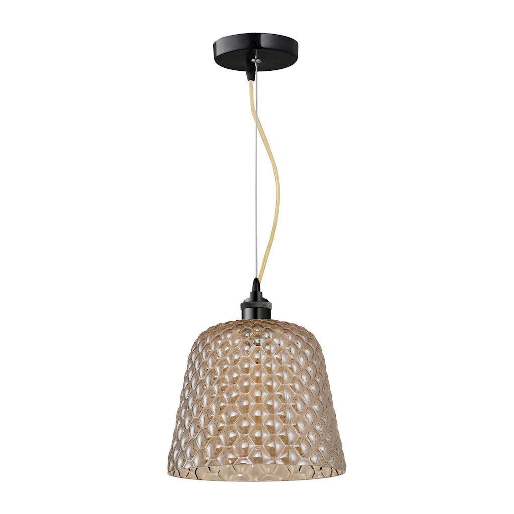 Chrome Hanging Lamp Rio 1x E27