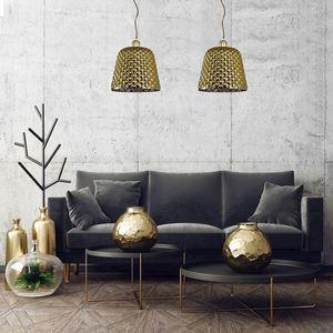 Rio Gold Pendant Lamp 1x E27 small 1