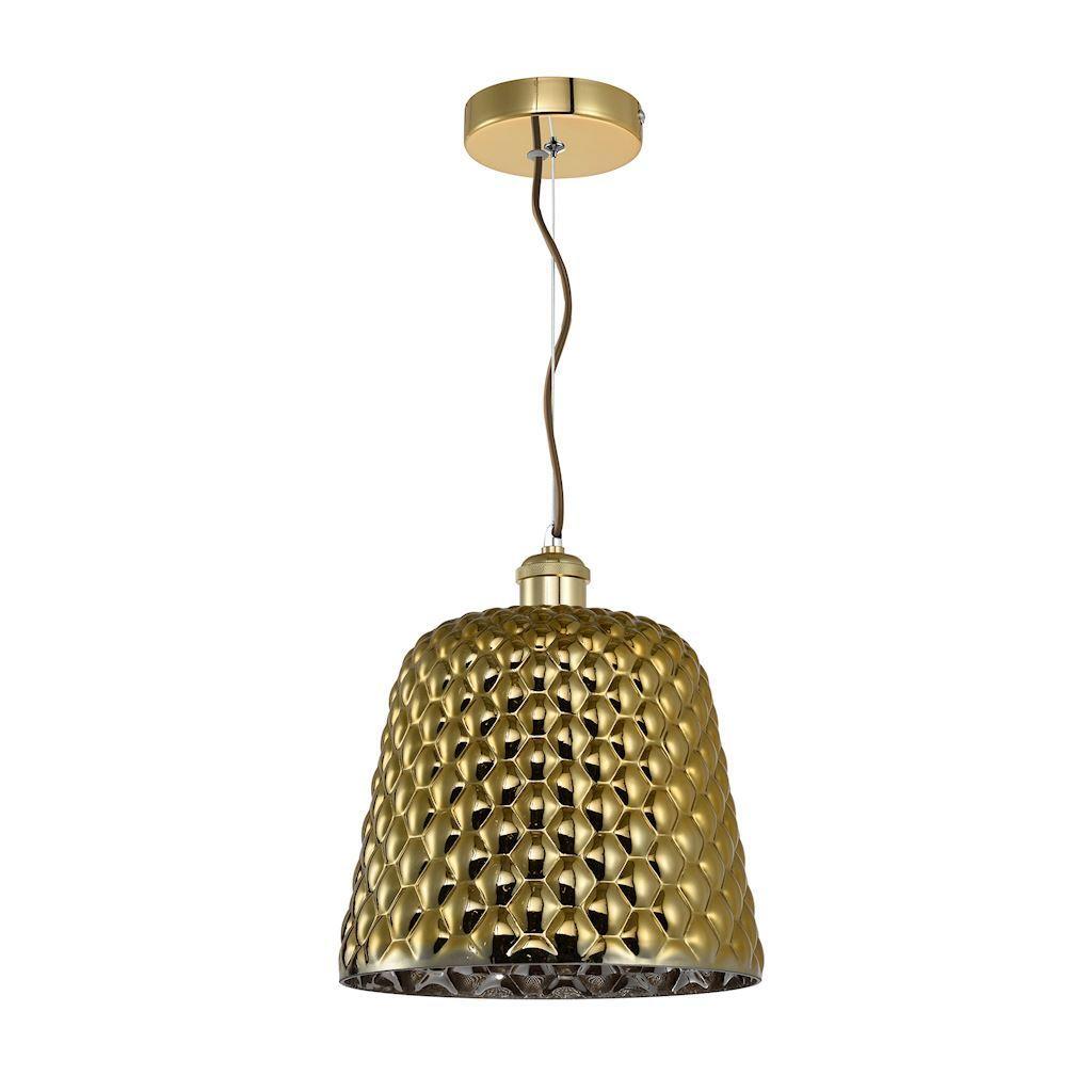 Rio Gold Pendant Lamp 1x E27