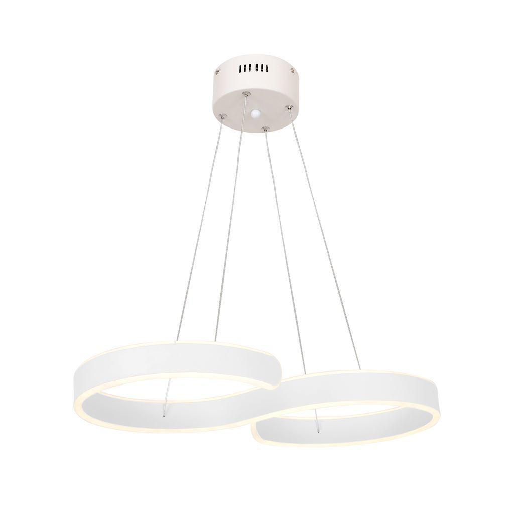 Black Hanging Lamp Infinity White 60 W Led