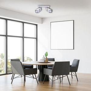 Vidar White 2x Gu10 White Ceiling Lamp small 5