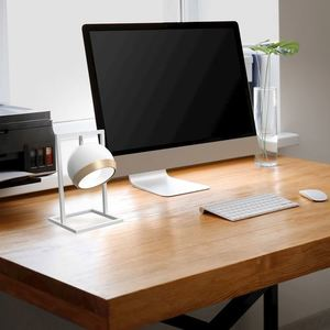Table Lamp Oval White 1x E27 small 1