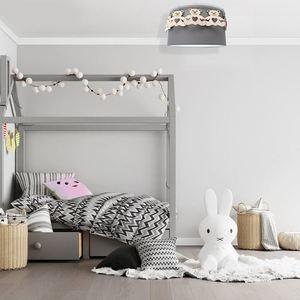 Gray Ceiling Lamp Bear 1x E27 small 4
