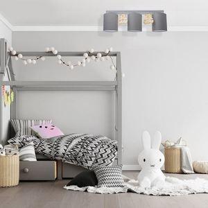 Gray Ceiling Lamp Bear 3x E27 small 5