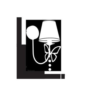 Charlotte White 1x E14 wall lamp small 2