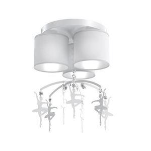 White Ceiling Lamp Balletnica White 3x E27 small 0