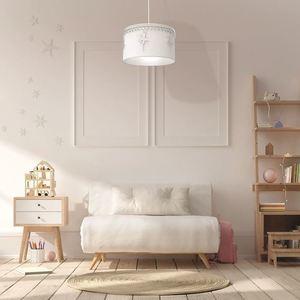 White Hanging Lamp Ballerina White 1x E27 small 1