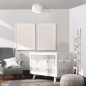 White Ceiling Lamp Balletnica White 1x E27 small 1