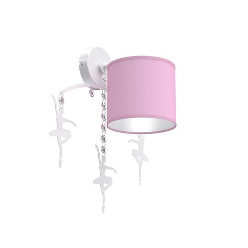 Pink Wall Lamp Ballerina Pink 1x E27