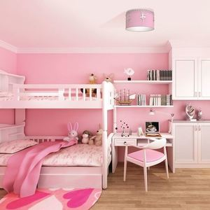 Pink Ceiling Lamp Ballerina 1x E27 small 1