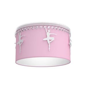 Pink Ceiling Lamp Ballerina 1x E27 small 0