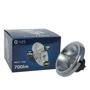 Ar111 12 W Gu10 3000 K / Black Light Bulb With Reflector small 2