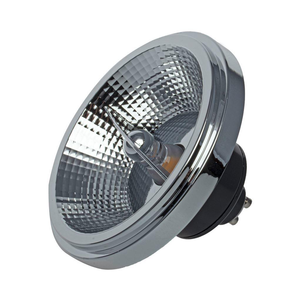 Ar111 12 W Gu10 3000 K / Black Light Bulb With Reflector