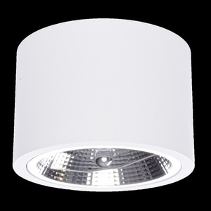 Redondo White 1x Ar111 Gu10 Surface Mounted luminaire small 6