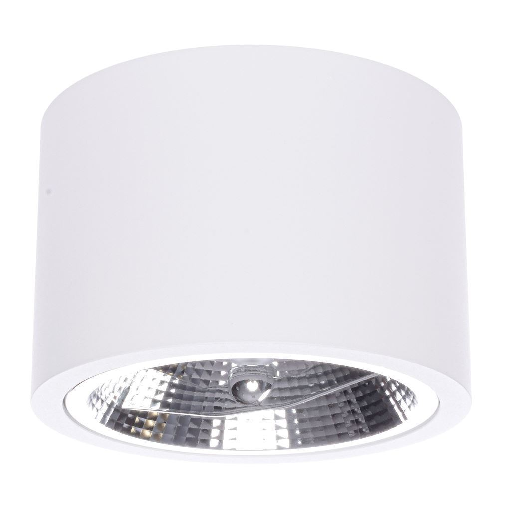 Redondo White 1x Ar111 Gu10 Surface Mounted luminaire