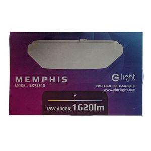 White Memphis Plafond 18 W Led 4000 K small 8