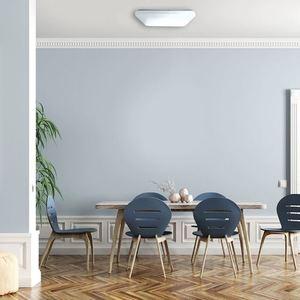 White Memphis 24 W LED 4000K Plafond small 5