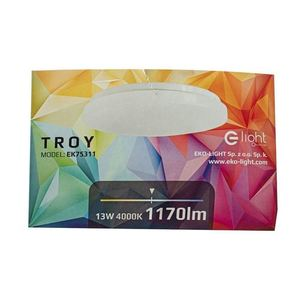 White Plafond Troy 13 W Led ø330mm 4000 K small 3