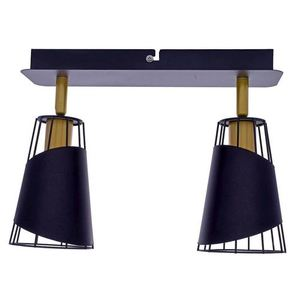 Black Rick 2x E14 Ceiling Lamp small 2