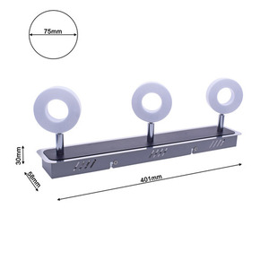 Chrome Ceiling Lamp Sole 10 W Led small 6