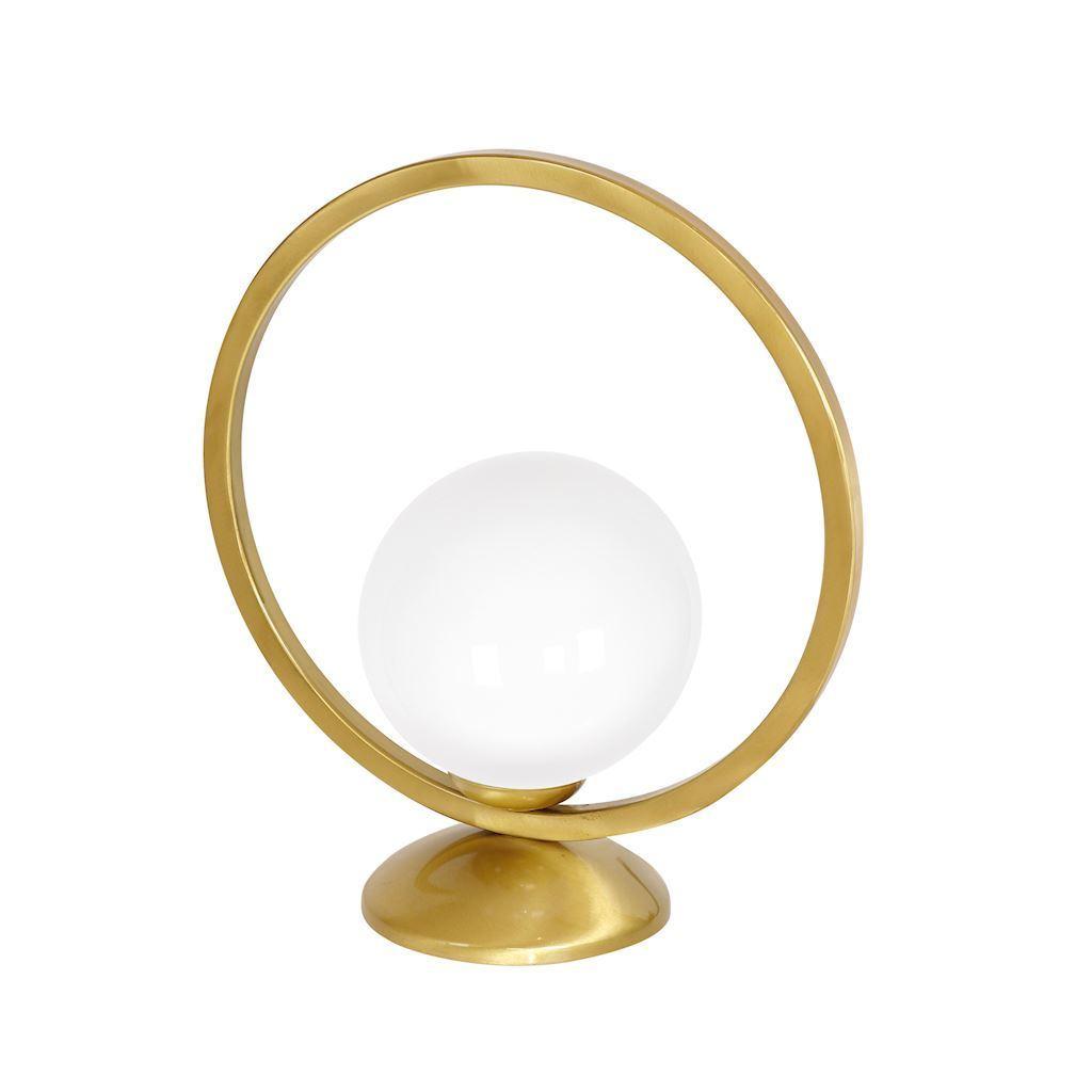 Brass Table Lamp Vienna 1x E14