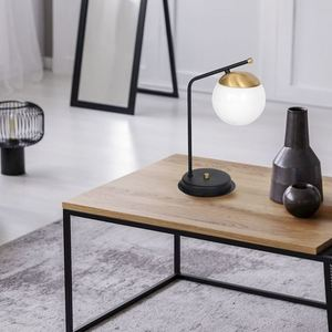 Black Table Lamp Carina 1x E14 small 1