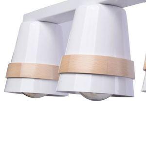 Venezia White 3x E27 White Ceiling Lamp small 4