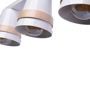 Venezia White 3x E27 White Ceiling Lamp small 5
