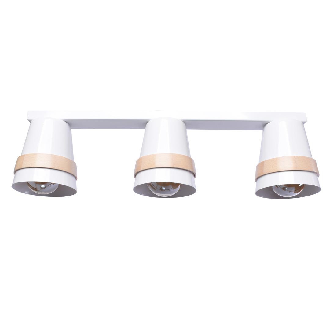 Venezia White 3x E27 White Ceiling Lamp