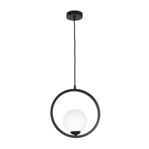 Black Boston Hanging Lamp 1x E14 small 0
