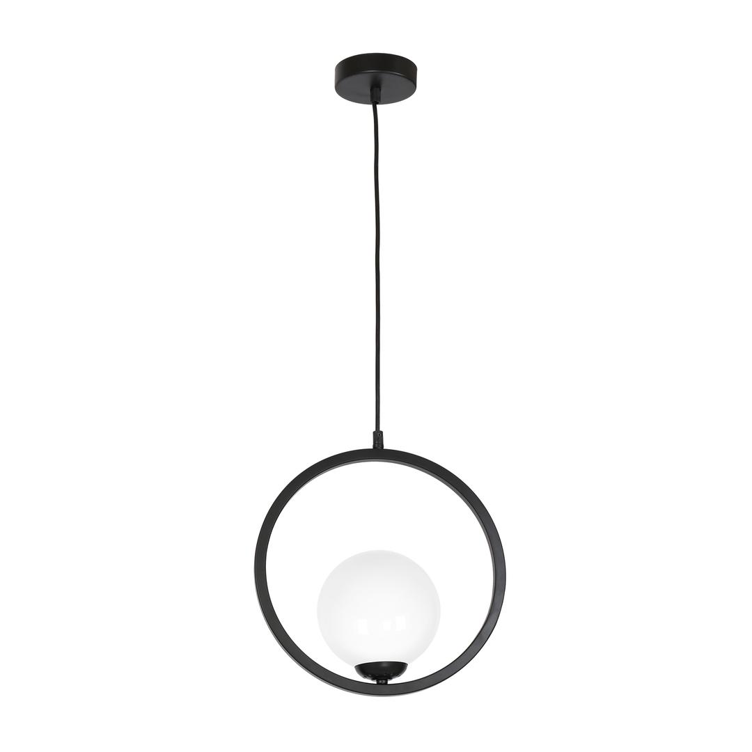 Black Boston Hanging Lamp 1x E14