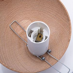 Sfera Wood White Ceiling Lamp 3x E14 small 2