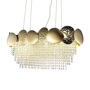 Lord Ii Gold Crystal Chandelier 8x Gu10 small 1