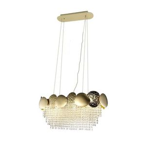 Lord Ii Gold Crystal Chandelier 8x Gu10 small 0
