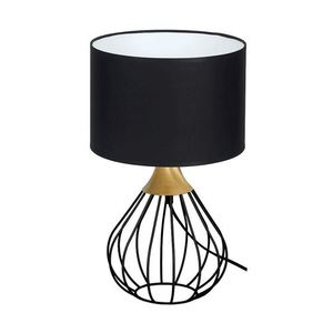 Black Kane Black 1x E27 Table Lamp small 0